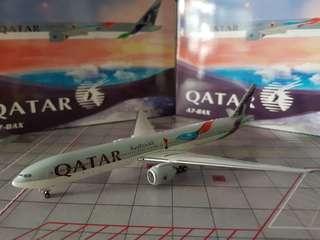 B777-300ER Qatar Fifa World Cup Russia 2018 Livery Scale 1:400