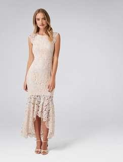 Francesca Fishtail Lace Maxi Dress