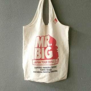 Mr Big Japan tour totebag