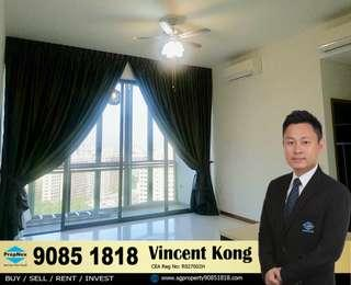 The Tennery, 1 bedroom Loft unit, MRT at door step, Mall, School