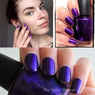 "OPI nail polish ""Tomorrow never dies"" (sky fall limited edition)"