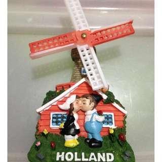 HOLLAND  Tourist Travel Souvenir 3D Resin Fridge Magnet Craft GIFT