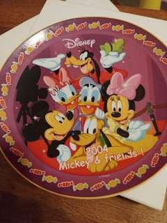 珍藏 100% New  Disney 迪士尼 2004年 米奇 碟 Mickey and Friends Mouse Minnie