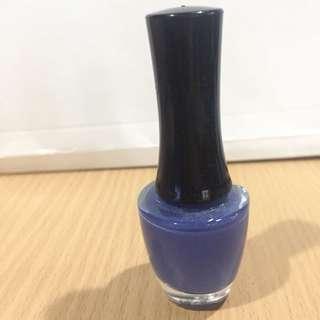 Face shop nail polish (blue shade)