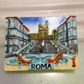 Roma  Tourist Travel Souvenir 3D Resin Fridge Magnet Craft GIFT