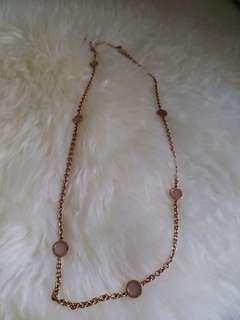 michael kors long necklace