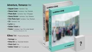 Wanna One Album Power of Destiny