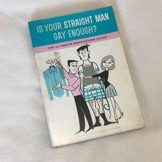 Is Your Straight Man Gay Enough - Nan Shipley and Jason Anthony