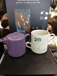 Starbucks Tea Pot Set