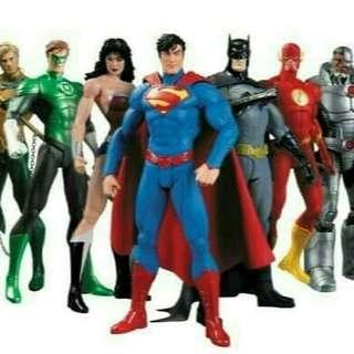Action Figure Super Hero DC