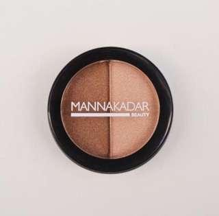Brand New MANNA KADAR Radiance Split Pan Bronzer and Highlighter Duo
