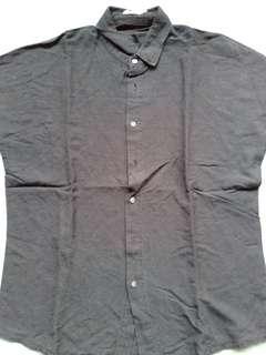 Zalora Kimono Black shirt