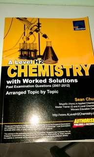 A Level H2 Chemistry with worked solutions arranged topic by topic