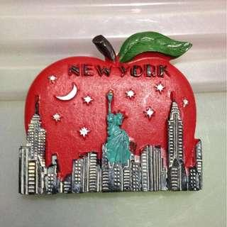 NEW YORK Tourist Travel Souvenir 3D Resin Fridge Magnet Craft GIFT
