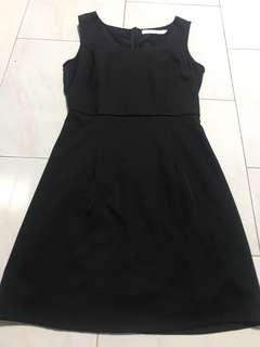 LAB Black Dress