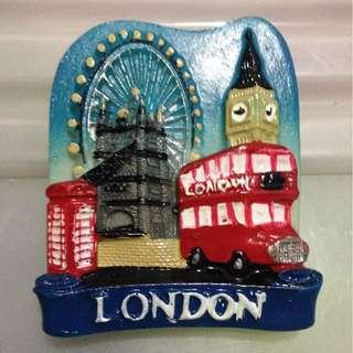 LONDON Tourist Travel Souvenir 3D Resin Fridge Magnet Craft GIFT