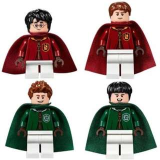 LEGO OLIVER WOOD QUIDDITCH 75956 MINI FIGURE GENUINE HARRY POTTER