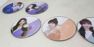 [LF/WTB] IZ*ONE Colour*IZ Member CD Plates(Izone)