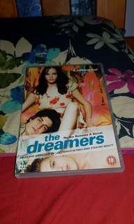 The Dreamers DVD. RARE! Region 2!