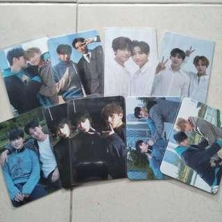 MONSTA X The Code/ The Connect unit photocards