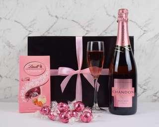 Pretty In Pink Chandon Hamper