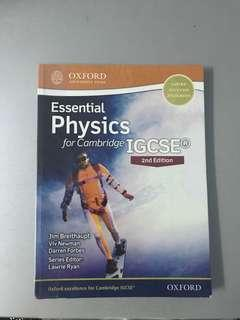 Essential Physics for Cambridge IGCSE (2nd Edition)