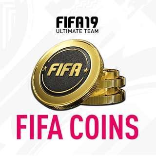 PS4 fifa 19 UT coins