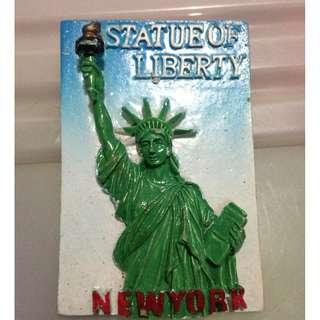 STATUE OF LIBERTY Tourist Travel Souvenir 3D Resin Fridge Magnet Craft GIFT