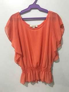 USED ONCE F21 blouse