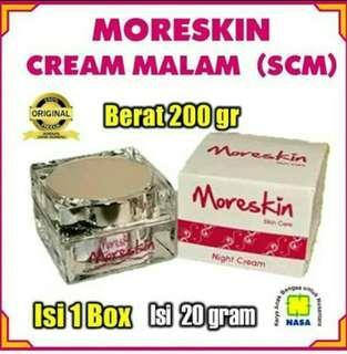 More Skin Krim Malam by Nasa untuk kulit cerah alami
