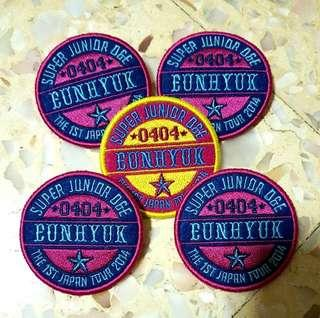 [SALE] Eunhyuk badge from D&E first Japan Tour