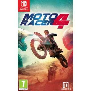 [NEW NOT USED] SWITCH Moto Racer 4 Nintendo Microids Racing Games