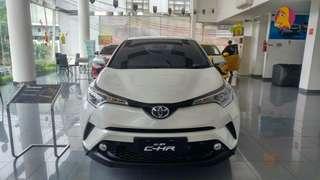 Toyota C-HR Dp Rp. 97.730.000