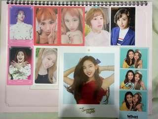 Clearance TWICE Photocards