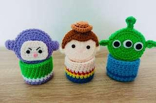 🚚 Toy Story Tsum Tsum Crochet Mini Container