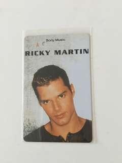 SMRT Card - RICKY MARTIN