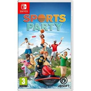 [NEW NOT USED] SWITCH Sports Party Nintendo Ubisoft Sports Games