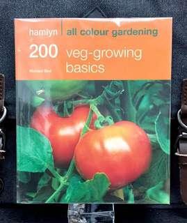《Preloved Paperback + Gardening Basic Knowledge For Vegetable Growing》Richard Bird - 200 VEG-GROWING BASICS : Hamlyn All Colour Gardening
