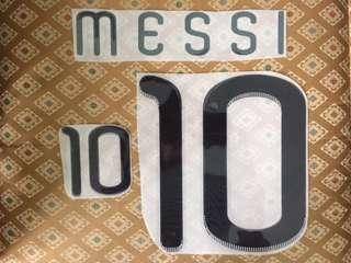 Nameset Messi World Cup 2010 (Remake)