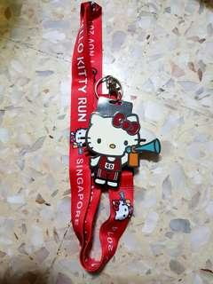 [SALE] Hello Kitty Medal + Lanyard from 2014 Hello Kitty Run