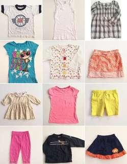 200 pieces of bundle clothing (ages 0-12years old)