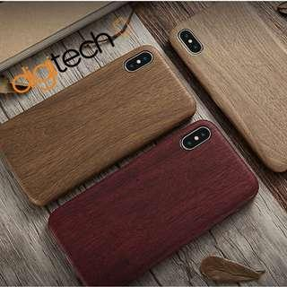 Premium Wooden Case For iPhone 6 6s 7 8 Plus X XS Max XR