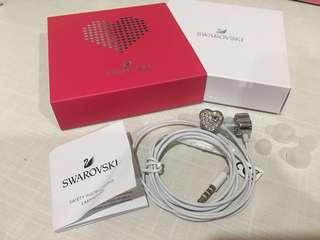 🆕Authentic Swarovski Heart Limited Edition Earphone