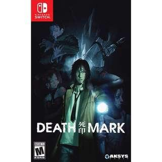 [NEW NOT USED] SWITCH Death Mark Nintendo Aksys Visual Novel Games