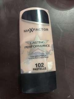 Max factor foundation- lasting performance
