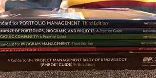 Book Bundle (6 Books): PMI Project/Program Management