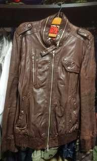 Bauhaus Tough Leather Jacket
