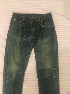 nudie jeans selvage 100% original