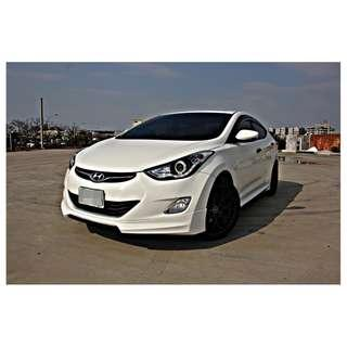 HOT大聯盟認證車 2012年 ELANTRA 1.8 頂級 可全額貸 超額貸 免頭款交車