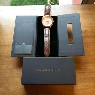 Leonard and Church - Barclay (Rose Gold)